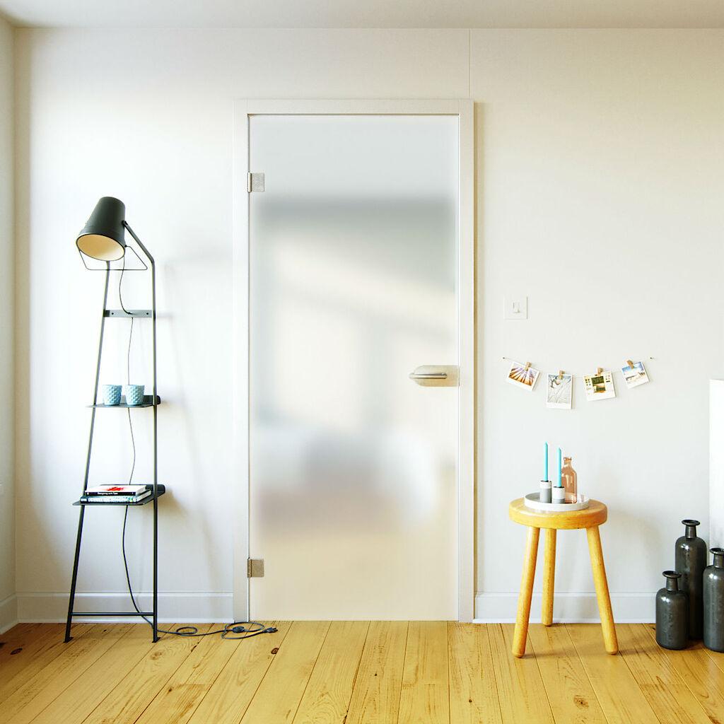 Glazen binnendeur \