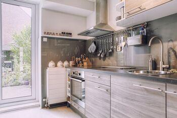 Spatscherm Keuken Glas : Gratis tips voor glazen keukenachterwanden glazz
