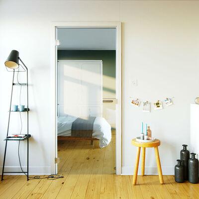 Glazen Binnendeuren Prijzen.Glazen Binnendeur Op Maat Inmeten Met 100 Pasgarantie Glazz