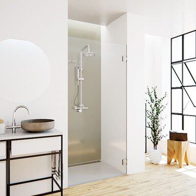Glazen producten op maat voor in de badkamer   glazz.nl