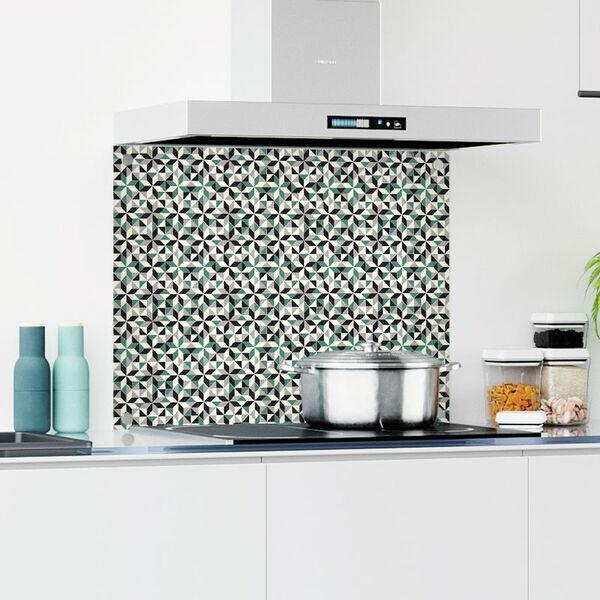 achterwand-keuken-patroon-9x7-puzzel-green