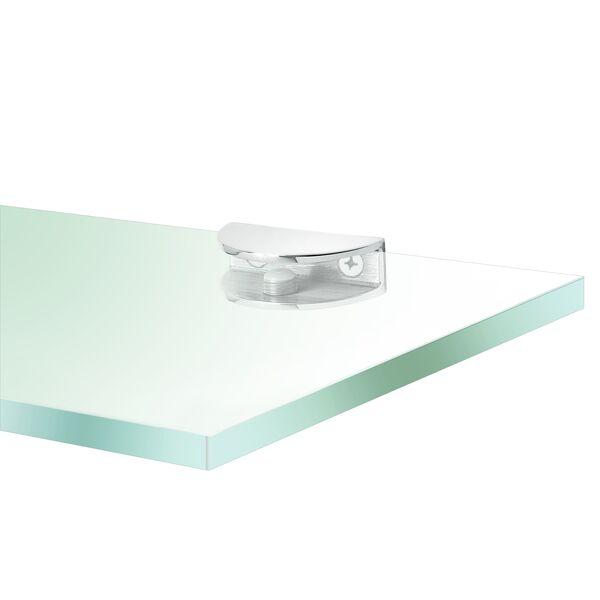 Glasplaatdrager halfrond model